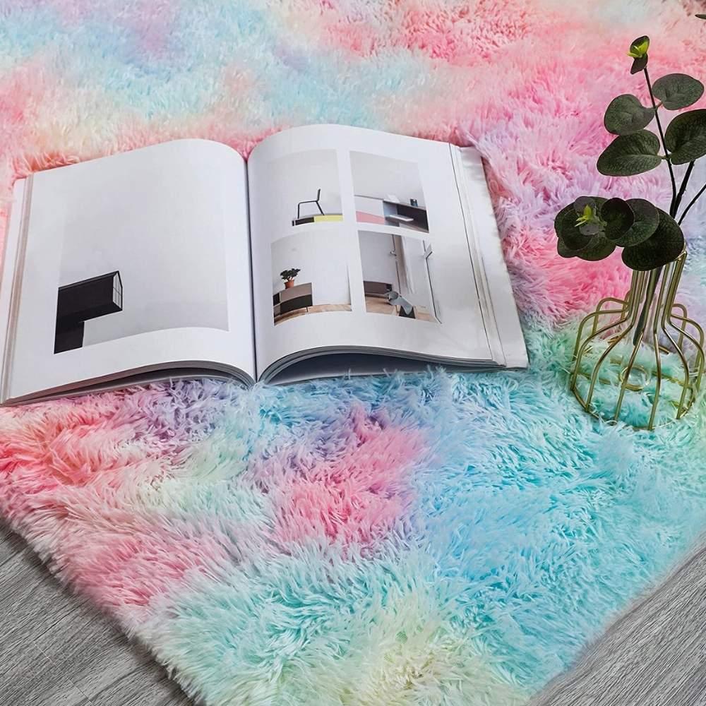 buy multi coloured rug online