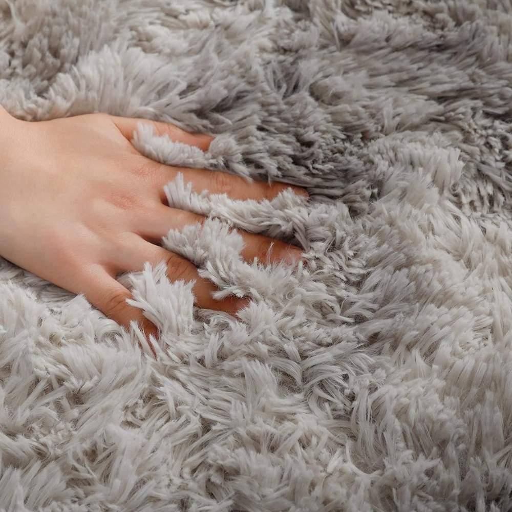 buy silver bedroom floor rug online