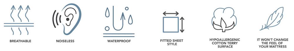 buy waterproof mattress cover online