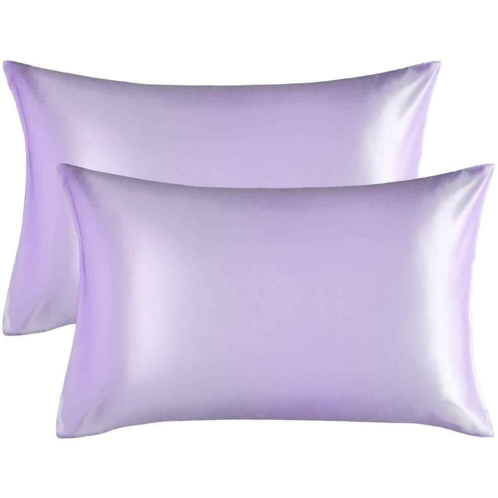buy lavender satin pillowcase