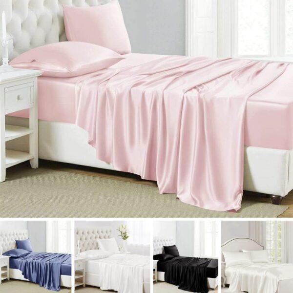 buy luxury silk sheets