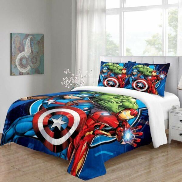 buy avengers bed linen online