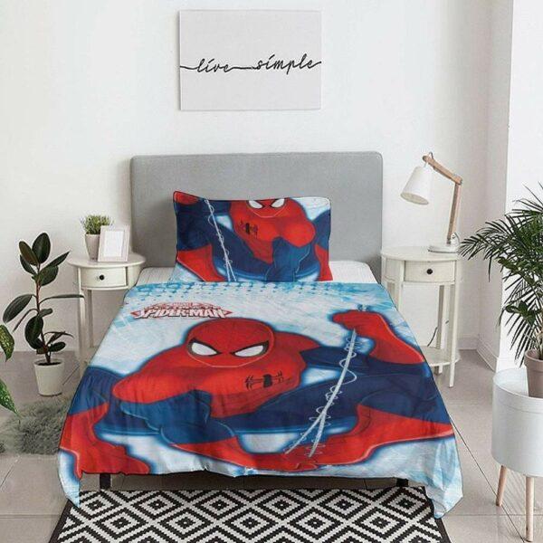 buy spiderman quilt cover set online